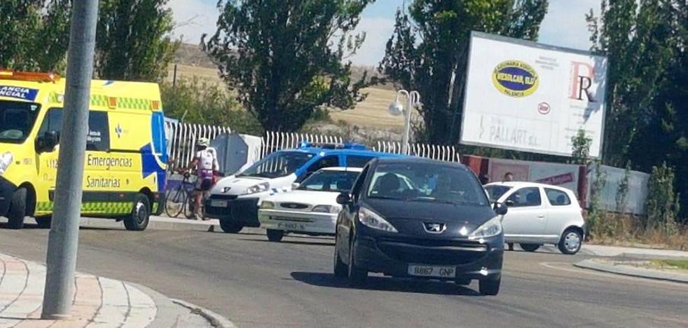 Herido un ciclista en Soria tras ser atropellado
