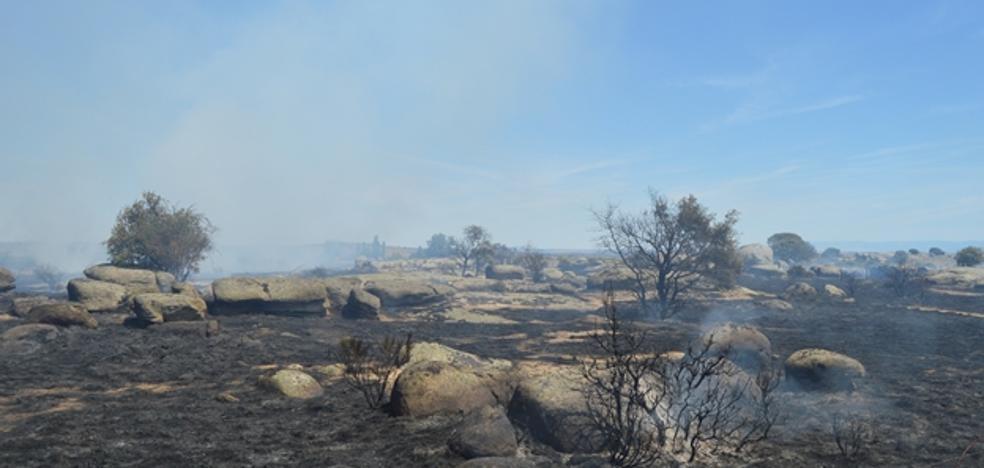 Ávila sufre tres incendios intencionados en 24 horas