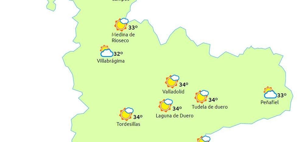 Comienzan a descender las temperaturas en Valladolid