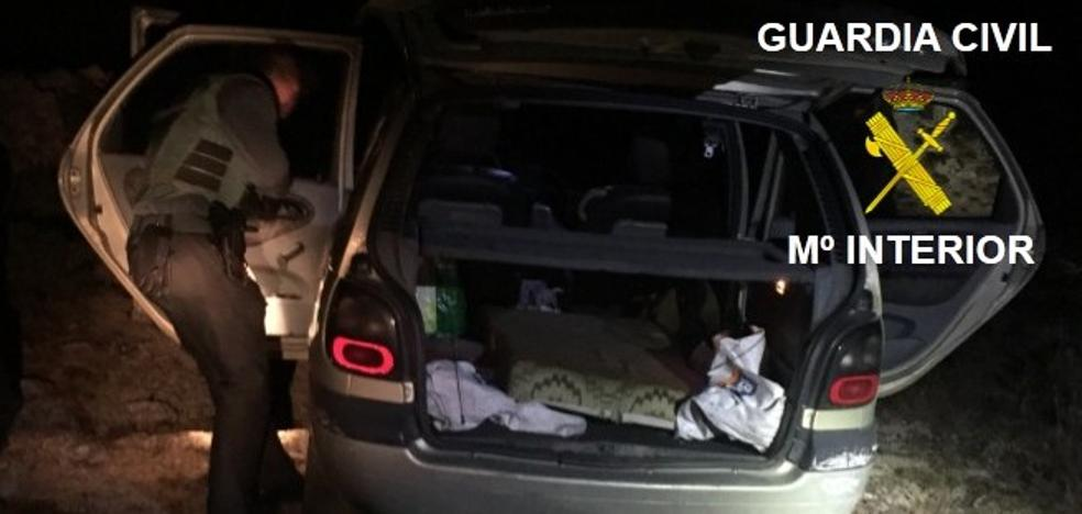 La Guardia Civil sorprende a un individuo robando en una cantera en Las Merindades