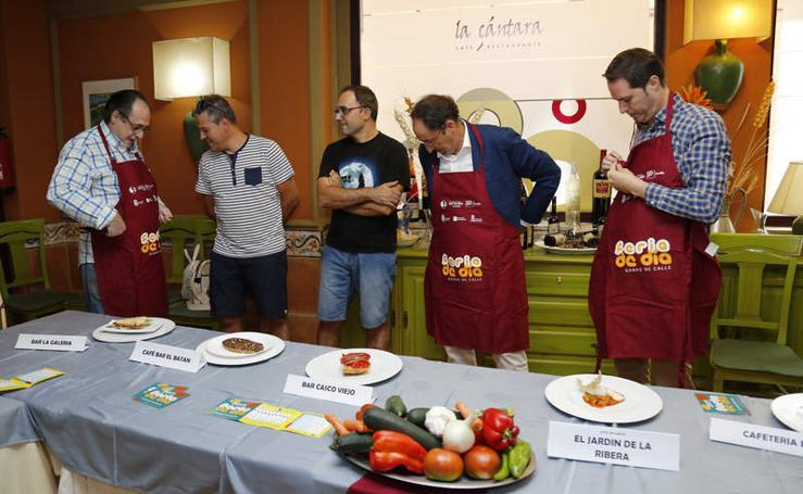 Bares y restaurantes presentan las tapas de la Feria de Día de Palencia