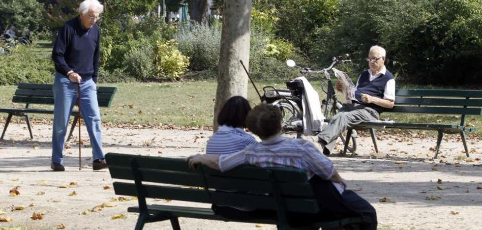La pensión media sube el 2% en Castilla y León, hasta 907 euros