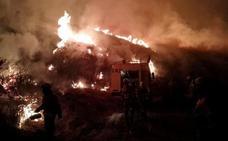 La Cabrera: casi 8.000 hectáreas quemadas; Forna, Losadilla y Trabazos, desalojados