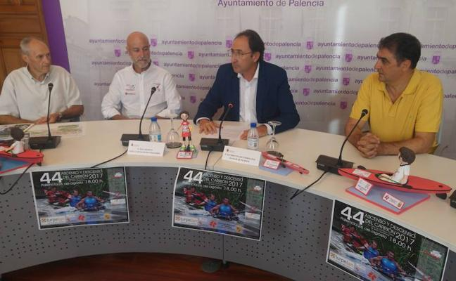 211 piragüistas participarán el sábado en el Ascenso y Descenso del Río Carrión