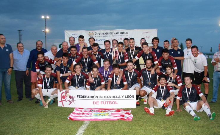 El Atlético Tordesillas se proclama campeón del XXIV Trofeo Diputación