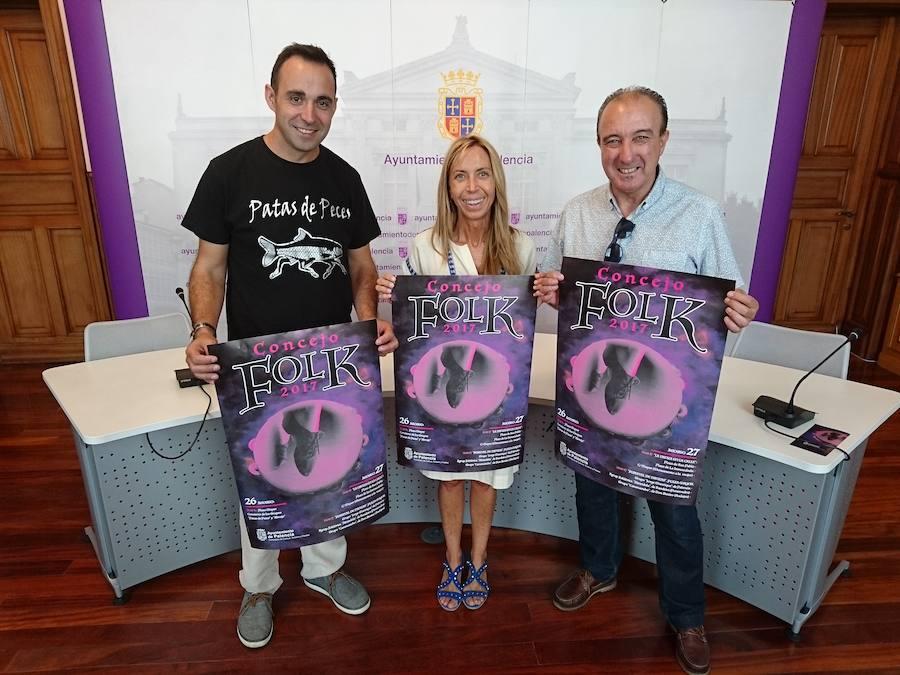 Una nueva edición del Festival Concejo Folk llega a Palencia