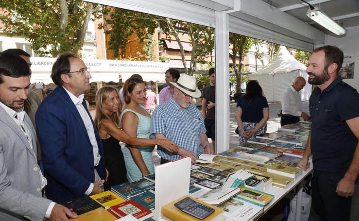 Inauguración de la Feria del Libro de Palencia