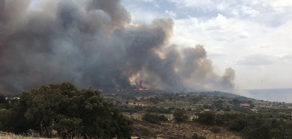 La Junta declara nivel 2 en un incendio que obliga a desalojar la residencia de Fermoselle