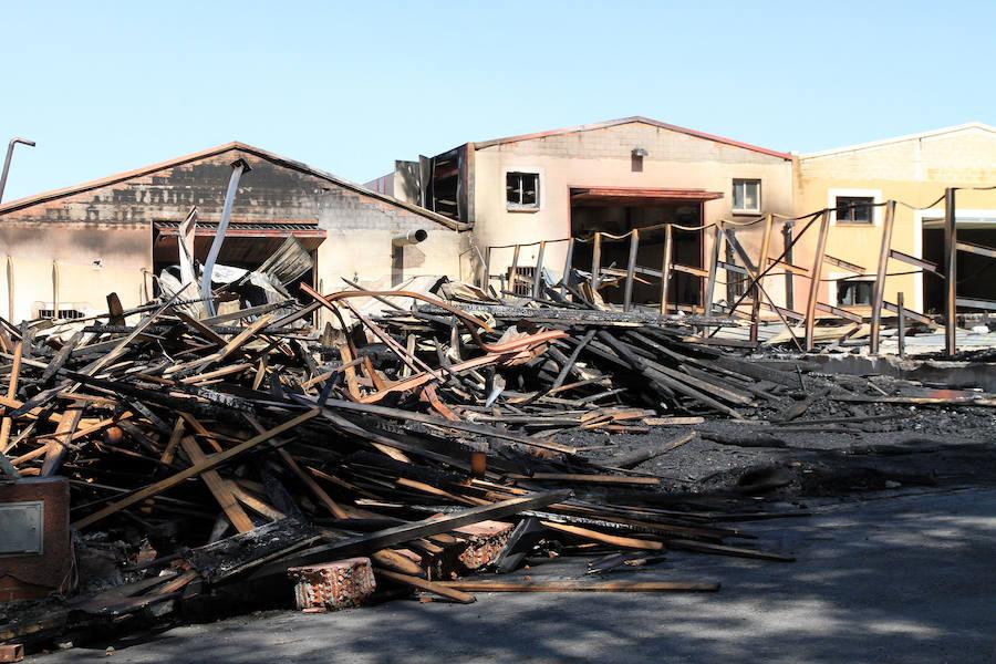 La consejera de Hacienda recibirá a los afectados por el fuego de Valsaín