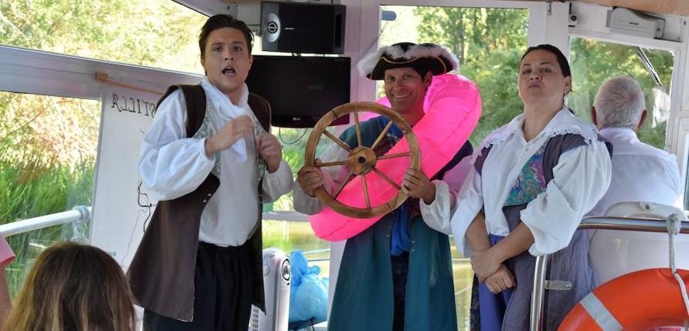 El Canal de Castilla recupera su esplendor histórico con los viajes teatralizados