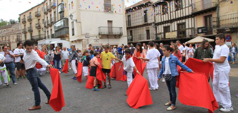 200 niños emulan a Víctor Barrio en Sepúlveda