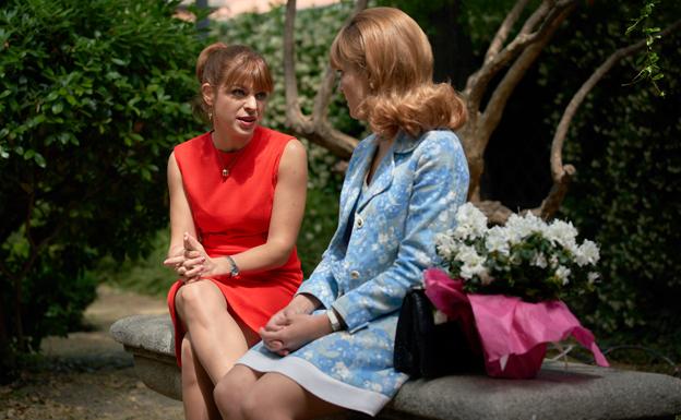 Nuria y Jaime, preocupados en 'Amar es para siempre'