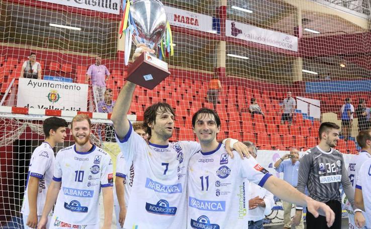 El Ademar se lleva la Copa de Castilla y León