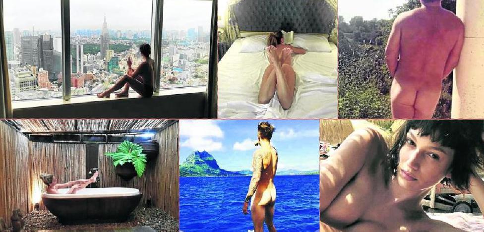 La última moda de los famosos: desnudarse en Instagram