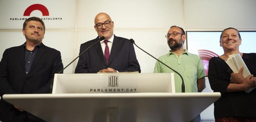 La ley de desconexión se aprobará en el Parlamento de Cataluña antes del referéndum del 1 de octubre