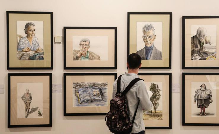Pedro Guerra y Dr. Juanpa exponen sus dibujos en la muestra 'Cortocircuito'