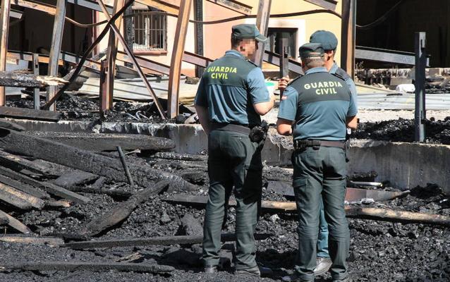 La Junta ayudará a las empresas de Valsaín destruidas por el fuego