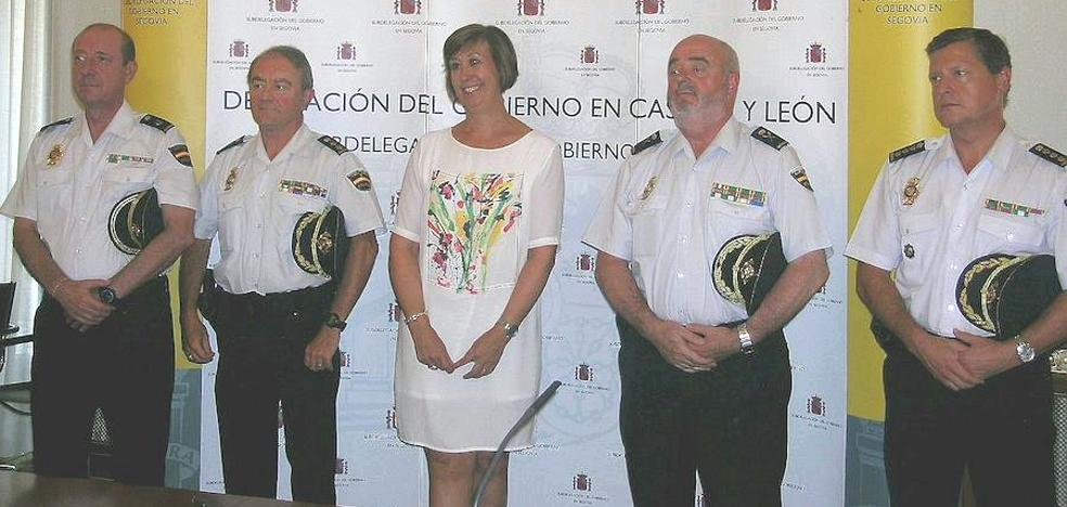 El nuevo comisario jefe de Segovia promete «transparencia» en una ciudad «segura y cómoda»