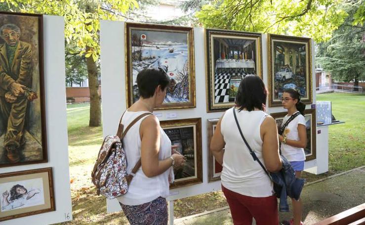 Inauguración de la muestra Expo Aire en la Huerta de Guadián