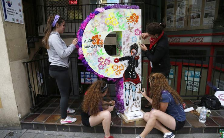 'Con P de Palencia' llena la Calle Mayor de atractivas esculturas