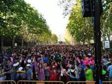 Las peñas toman el centro de Valladolid