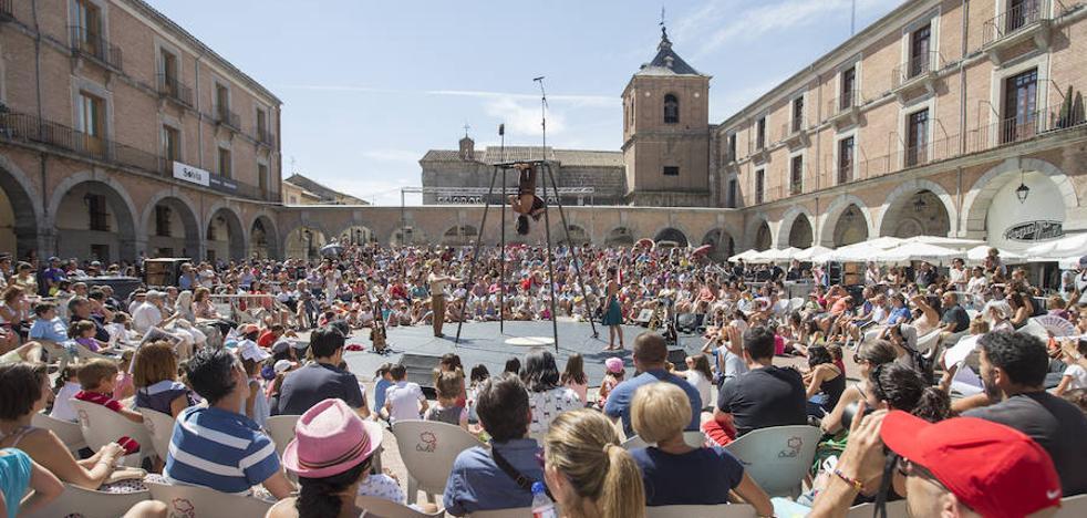 Ávila se convierte en la capital del circo familiar