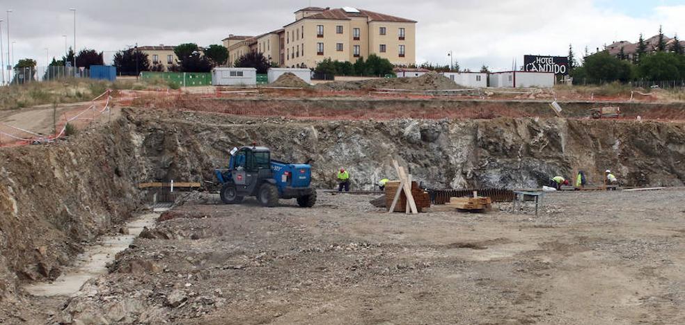 Avanzan las obras en la parcela del futuro Palacio de Justicia