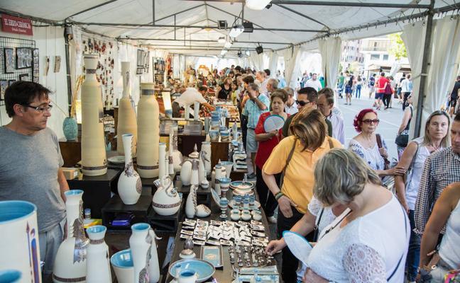 La Feria de Cerámica de Valladolid abre con alfareros de España y Portugal