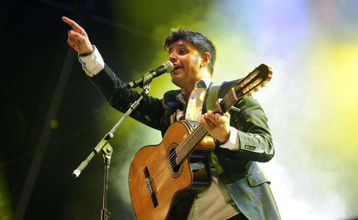 Concierto de Jaime Valentín en la Plaza Mayor de Valladolid