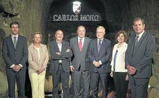 El presidente de La Rioja ensalza el «espíritu emprendedor» de Carlos Moro