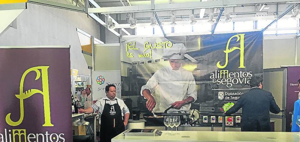 La Diputación promociona en la Feria de Salamanca más de 40 productos