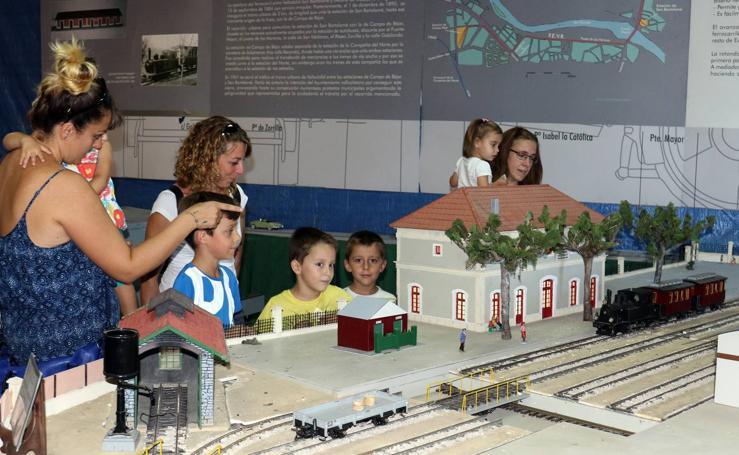 XXVI Exposición Ferroviaria en la antigua estación de La Esperanza