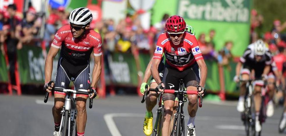 Froome, más líder y Contador se acerca al podio