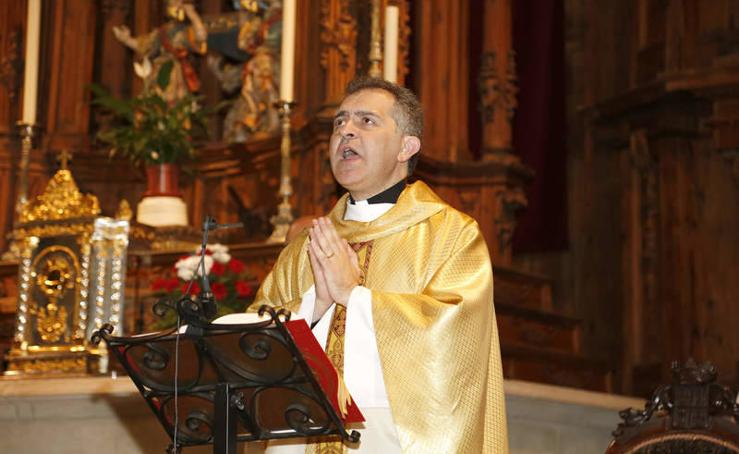 La última misa de Raúl Muelas en la la iglesia Virgen de la Calle