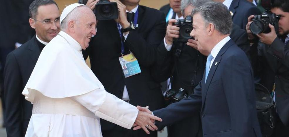 El Papa pide a Colombia «huir de toda tentación de venganza»