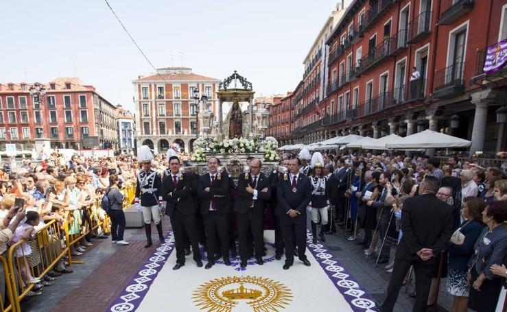 Procesión y misa en honor a la Virgen de San Lorenzo