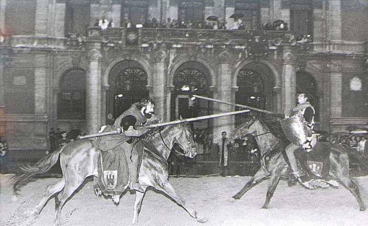 Cuando Valladolid celebraba San Mateo (IV): torneo medieval