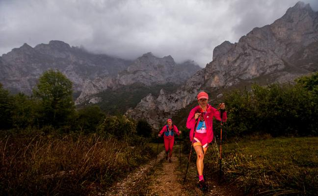 La lluvia, protagonista de la segunda etapa de la Riaño Trail Run