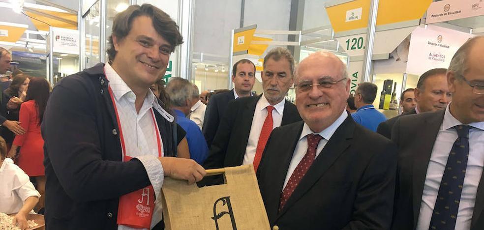 Portugal se interesa por la marca Alimentos de Segovia