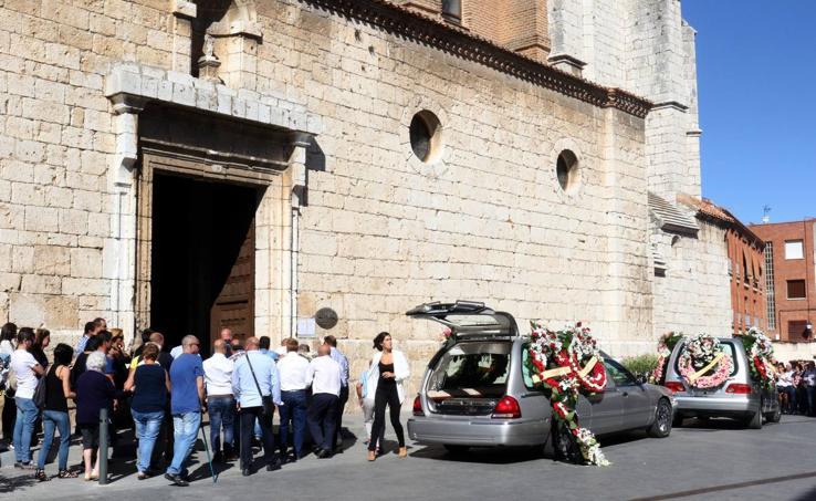 Funeral por la mujer fallecida en el vuelco de un remolque en Tordesillas