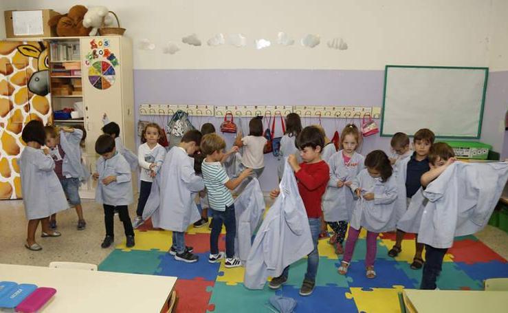 Los alumnos de Primaria del colegio Jorge Manrique vuelven a las aulas
