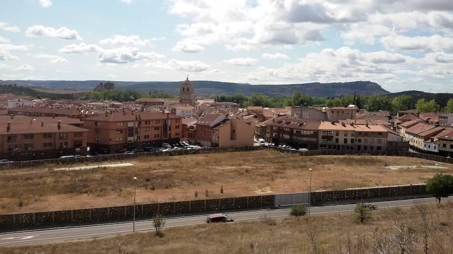 Aguilar planea un aparcamiento en el solar de la antigua fábrica de galletas