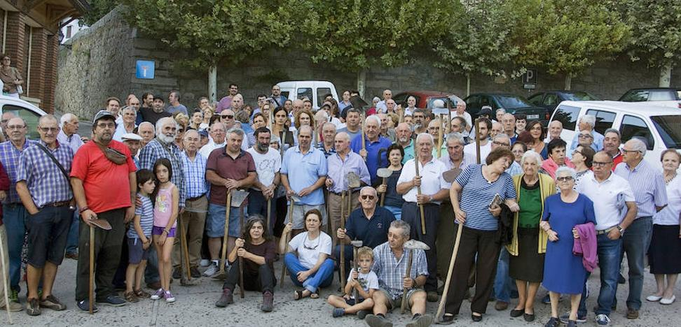 Agricultores de Cueva del Valle se revelan contra las sanciones de la Confederación del Tajo