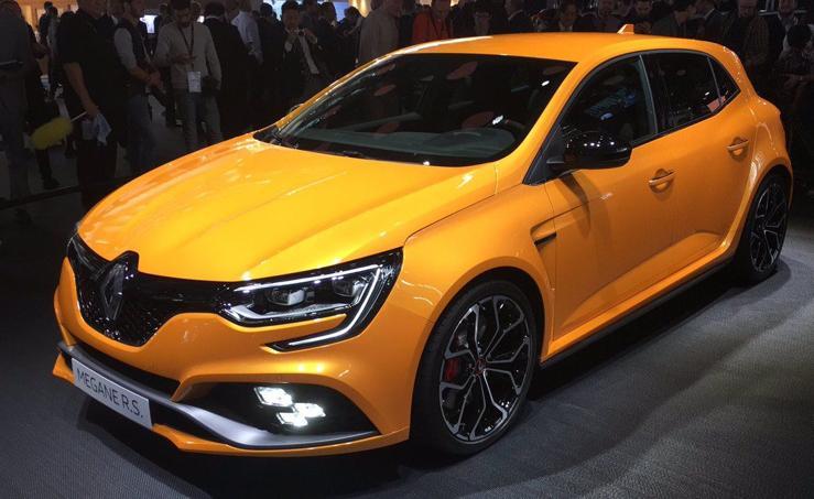 Renault presenta el nuevo Mégane RS