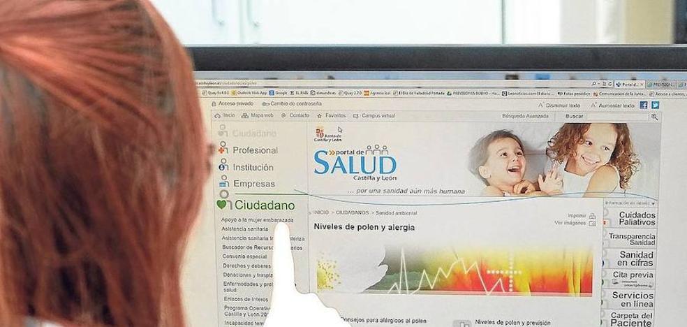El 54,3% de los castellanos y leoneses consultan dudas médicas en la web