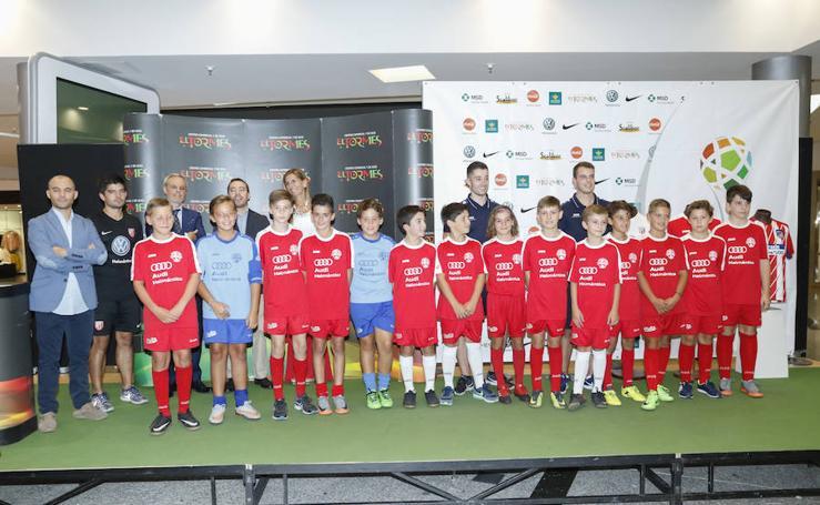 Presentación de la tercera edición de la Copa Tormes de fútbol 7