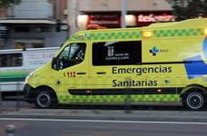 Dos heridos tras chocar con su vehículo contra un árbol en La Adrada