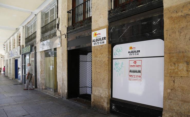 La Calle Mayor de Palencia y sus locales comerciales