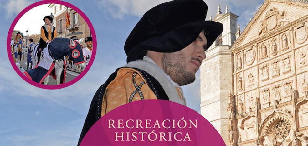 Valladolid acoge la recreación de la entrada de Carlos V en la villa en 1517