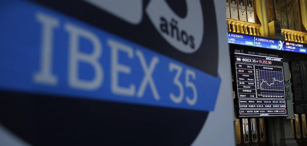 Cuarto paso adelante consecutivo para el Ibex-35